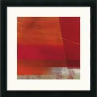 Framed Art Print 'Cepheus' by Leo Burns 18 x 18-inch