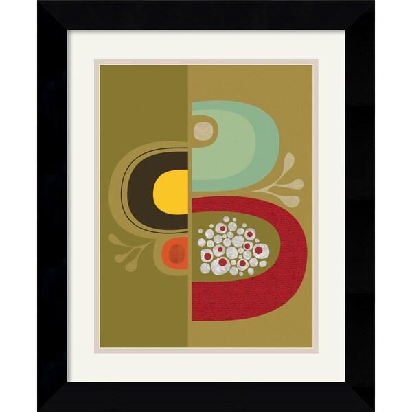 Jenn Ski 'Division No. 1' Framed Art Print