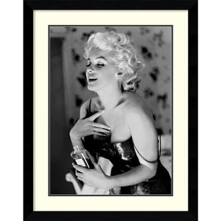 Ed Feingersh 'Marilyn Monroe, Chanel No. 5' Framed Art Print