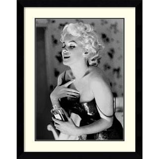 ed feingersh marilyn monroe chanel no 5 framed art print