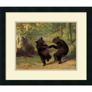 William Beard 'Dancing Bears' Framed Art Print