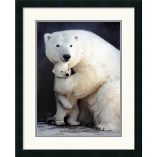 Egan 'Bear Hug' Framed Art Print