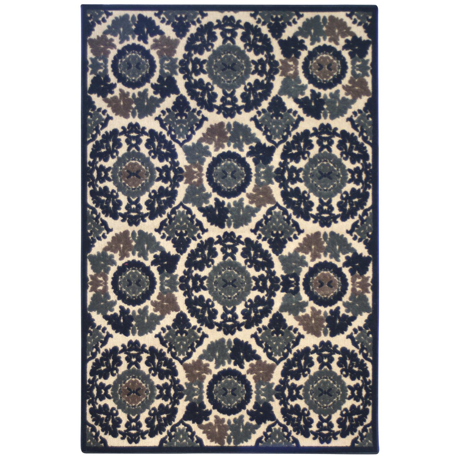 Terrace Transitional Ivory Indoor/Outdoor Rug (8' x 10')