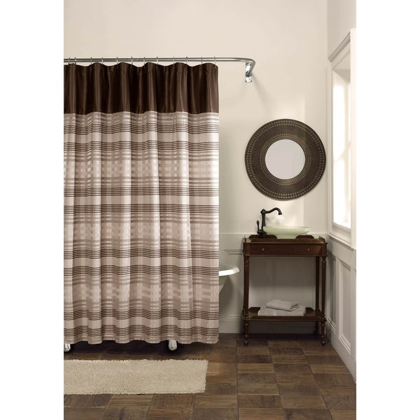 Shop Maytex Blake Fabric Shower Curtain