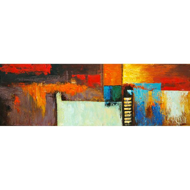 'Contemporary Giclee 15' Gallery-wrapped Embellished Art Print