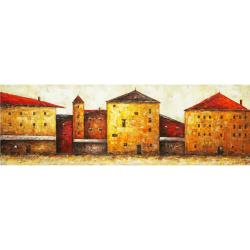'Industrial Age' Gallery Wrapped Canvas Art