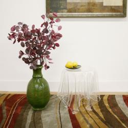 Blair Clear Modern Tablecloth 'Illusion' Acrylic Table