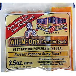 Portion 2.5-oz Popcorn Packs (Case of 24)