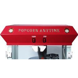 Popcorn Time 6093 Red 6-oz Antique Popcorn Machine - Thumbnail 2