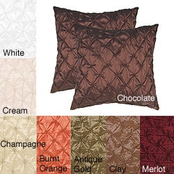Zanzibar 18-inch Decorative Pillows (Set of 2) - Free Shipping Today - Overstock.com - 13371203