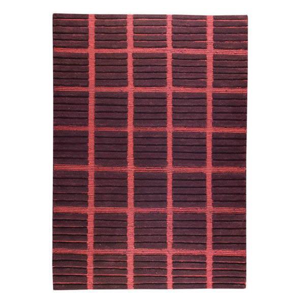 Handmade M.A.Trading Piano Brown Wool Rug - 5'6 x 7'10 (India)