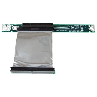 StarTech.com PCI Express Riser Card x8 Left Slot Adapter 1U with Flex