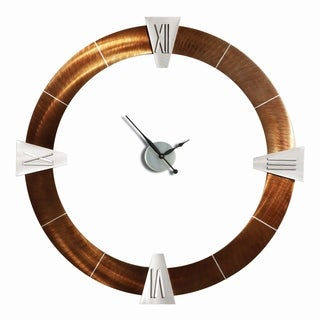 Jon Gilmore Designs Root Beer Decoround Roman Clock