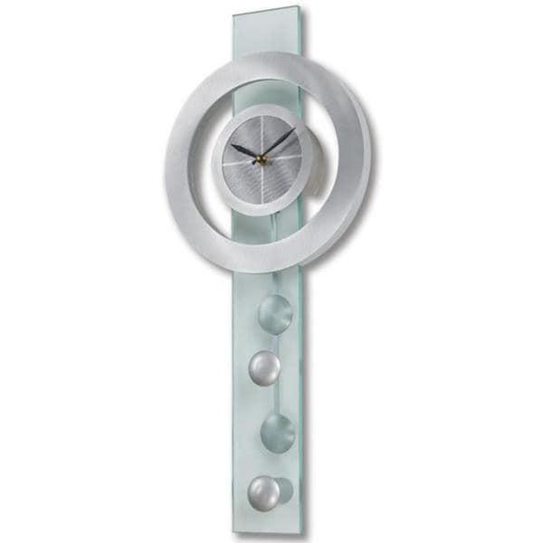 Jon Gilmore Designs Juggling Time Silver Pendulum Wall