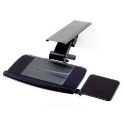 Cotytech Black Adjustable Keyboard Mouse Tray