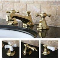 Metropolitan Polished Brass Widespread Bathroom Faucet