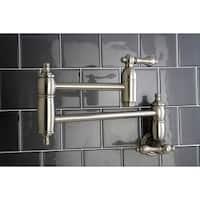 Restoration Satin Nickel Pot-filler Kitchen Faucet