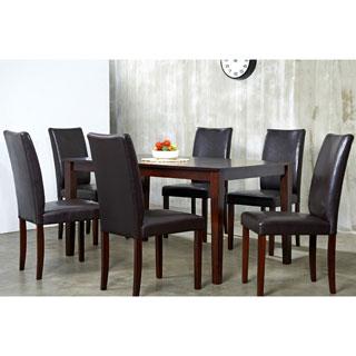 Shino Light Cappuccino 7-piece Dining Furniture Set