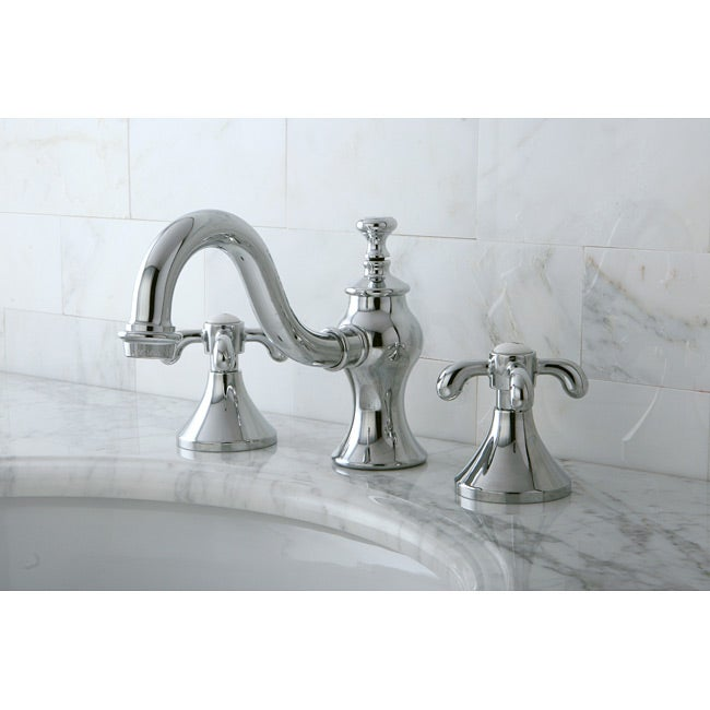 Bathroom Faucets Chrome : Lava Widespread Chrome Bathroom Faucet - Free Shipping Today ...