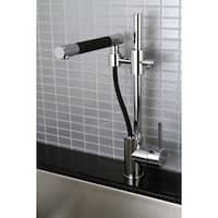 Delta Satin Nickel Kitchen Faucet Pull Out Spray Swivel