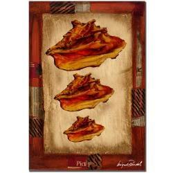 Miguel Paredes 'Conch Shells' Canvas Art - Thumbnail 0
