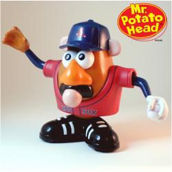 Boston Red Sox Red Mr. Potato Head - Thumbnail 1