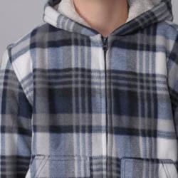 Gioberti by Boston Traveler Boy's Fleece-lined Hooded Jacket
