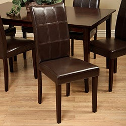 Eveleen Brown 7-piece Dining Table and Chair Set - Thumbnail 1