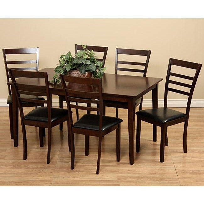 Crystal 7-piece Dining Furniture Set