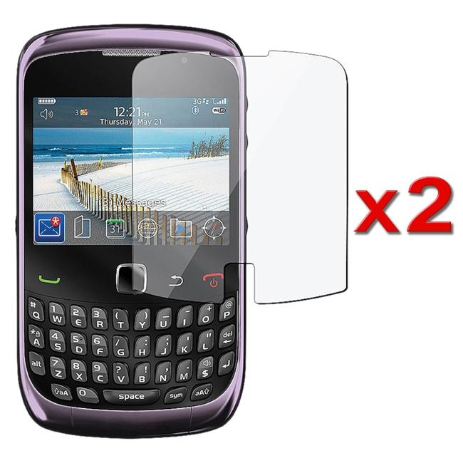 Screen Protector for BlackBerry Curve 3G/ 9300/ 9330 (Pack of 2)