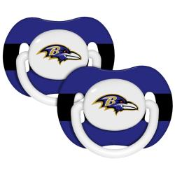 Baltimore Ravens Pacifiers (Pack of 2)