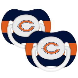 Chicago Bears Pacifiers (Pack of 2) - Thumbnail 0