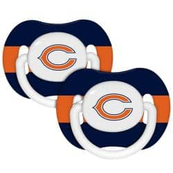 Chicago Bears Pacifiers (Pack of 2)|https://ak1.ostkcdn.com/images/products/5617614/73/579/Chicago-Bears-Pacifiers-Pack-of-2-P13376663.jpg?impolicy=medium