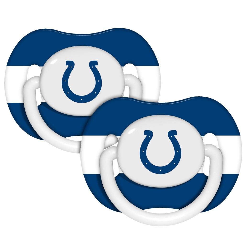 NFL Indianapolis Colts Baby Fanatic 2-Pack Pacifiers