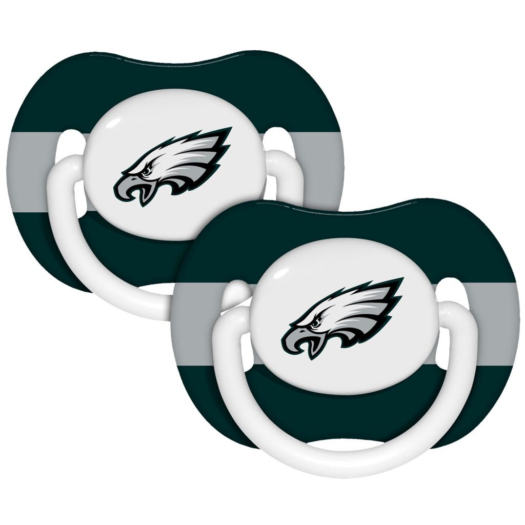 Philadelphia Eagles Pacifiers (Pack of 2)