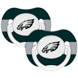 Philadelphia Eagles Pacifiers (Pack of 2) - Thumbnail 1