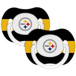 Pittsburgh Steelers Pacifiers (Pack of 2) - Thumbnail 1