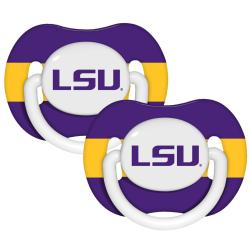 LSU Tigers Pacifiers (Pack of 2)