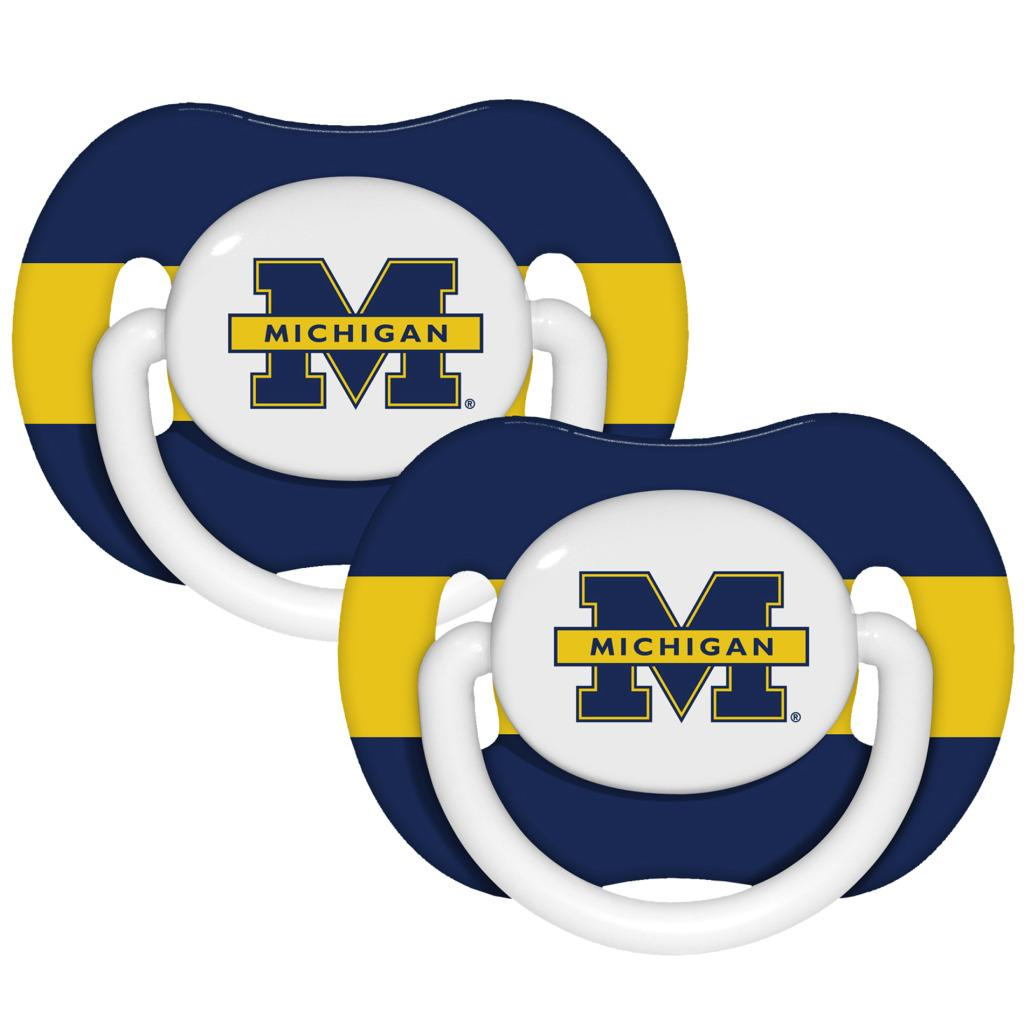 Michigan Wolverines Pacifiers (Pack of 2)
