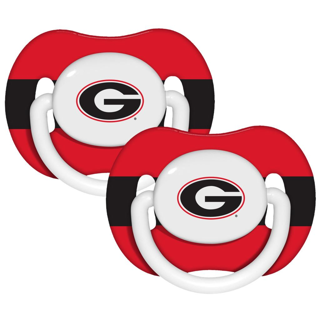 Georgia Bulldogs Pacifiers (Pack of 2)