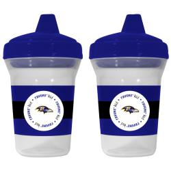 Baltimore Ravens Sippy Cups (Pack of 2) - Thumbnail 1
