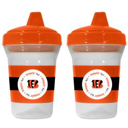 Cincinnati Bengals Sippy Cups (Pack of 2)