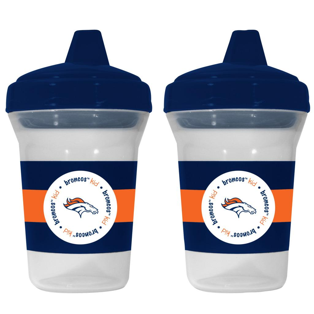 Denver Broncos Sippy Cups (Pack of 2)