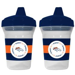 Denver Broncos Sippy Cups (Pack of 2) - Thumbnail 1
