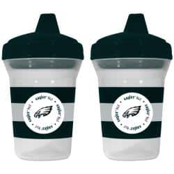 Philadelphia Eagles Sippy Cups (Pack of 2)|https://ak1.ostkcdn.com/images/products/5617656/73/579/Philadelphia-Eagles-Sippy-Cups-Pack-of-2-P13376701.jpg?impolicy=medium
