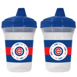 Chicago Cubs Sippy Cups (Pack of 2) - Thumbnail 1