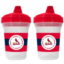 St. Louis Cardinals Sippy Cups (Pack of 2) - Thumbnail 1