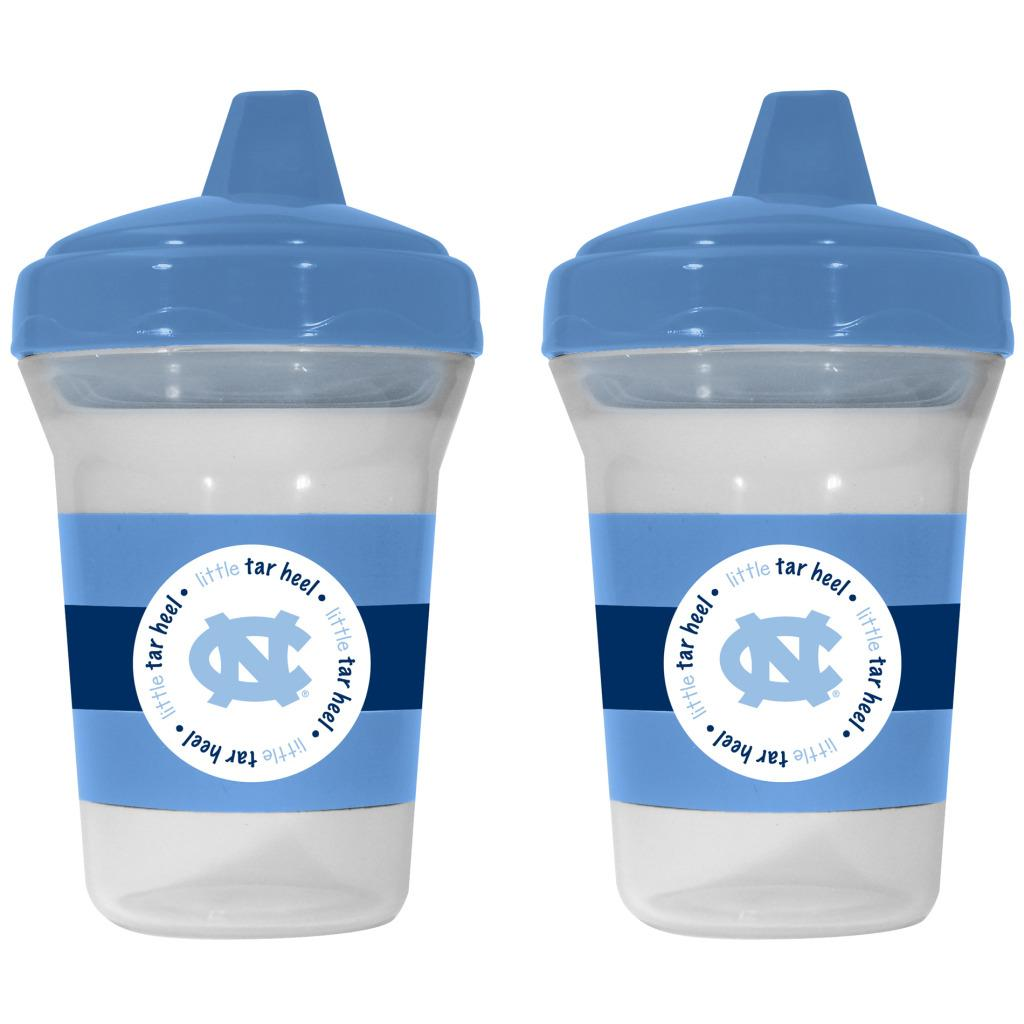 North Carolina Tar Heels Sippy Cups (Pack of 2)
