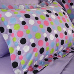 Dot Twin XL-size 6-piece Bed in a Bag with Sheet Set - Thumbnail 1