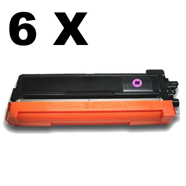 Brother TN210 Magenta Compatible Toner (Pack of 6)